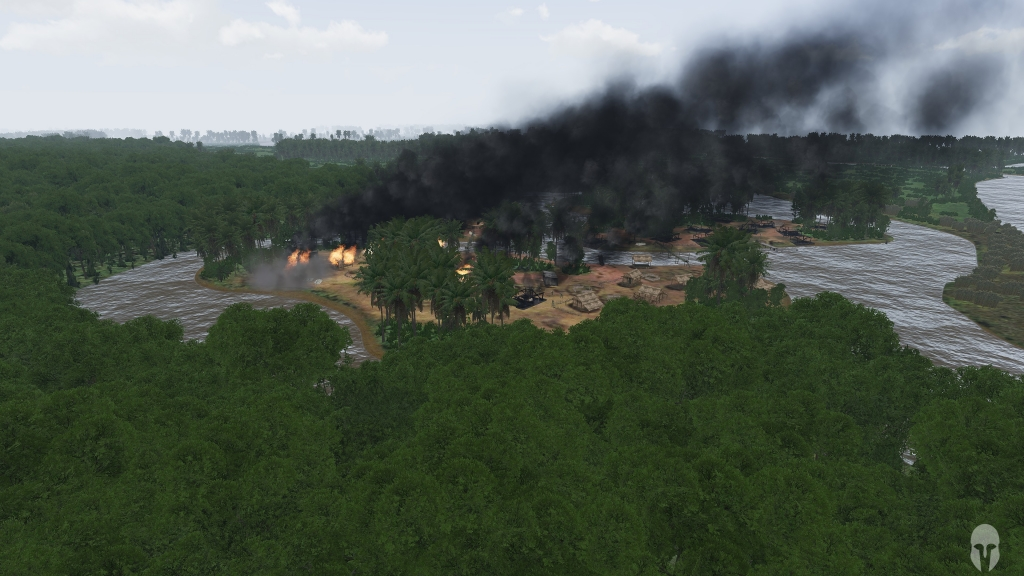 Aftermath of 1st Cavalry Patrol