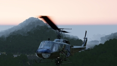 Flying into OP Hawk