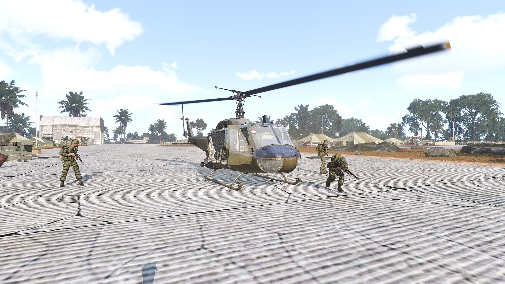 The gang sucessfully rescues a downed pilot